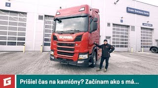Scania R450 - TEST ako v Scania Driver Competitions - GARÁŽ.TV