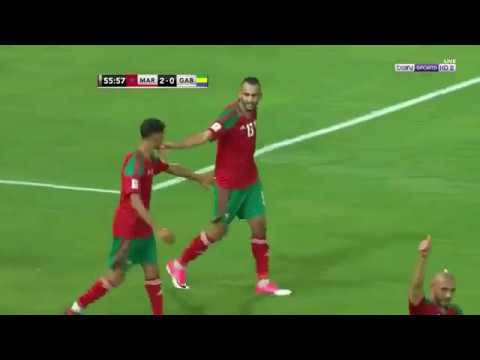 Maroc vs Gabon  3 0 Resume match Qualifications  CDM 2018
