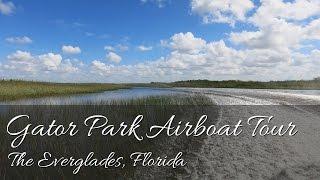 Gator Park Airboat Tour | Everglades | Miami, Florida