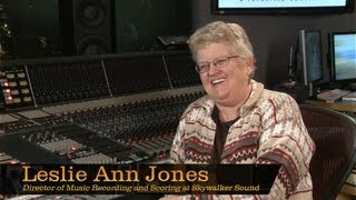 Leslie Ann Jones, Dir. of Music Recording and Scoring at Skywalker Sound - Pensado