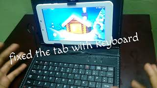 Unboxing of ikall n4 tablet+keyboard
