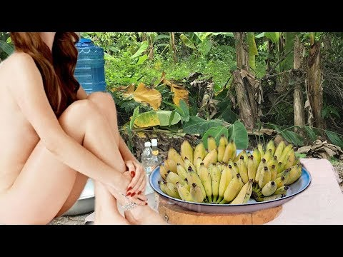 Thumbnail: Yummy Yummy Dessert! Cute Girl Cook Banana Dessert-How To Make Yummy Dessert From Banana and Coconut