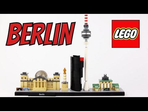 LEGO Architecture Berlin - Unboxing, Speed Build & Review - 21027