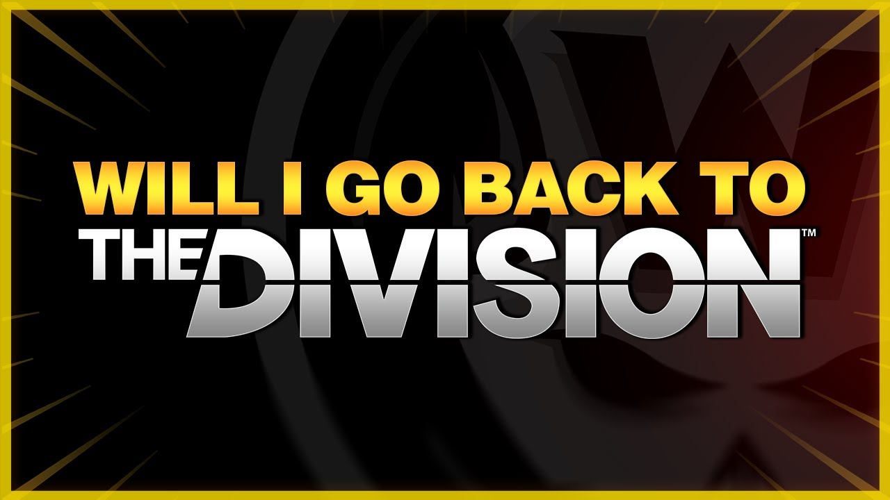 Will I go back to The Division 1? Group PVP in The Division 2? thumbnail