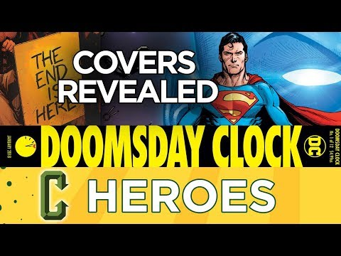 Doomsday Clock #1 Covers Revealed