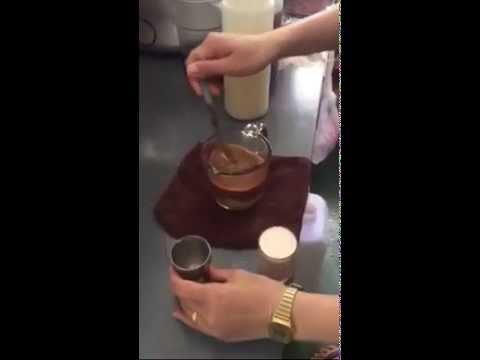 Outleto Coffee : วิธีทำ คาปูชิโนเย็น อบรมชงกาแฟสด CoffeeByJRL