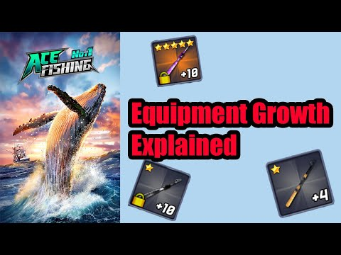 Ace Fishing: Equipment Growth Explained