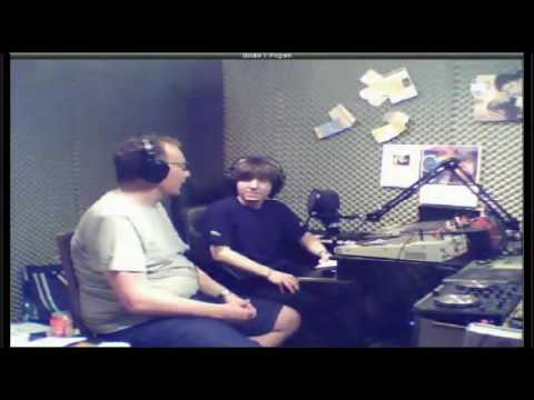 Emission on Space Radio Macedonia Skopje guest Andre Looljen