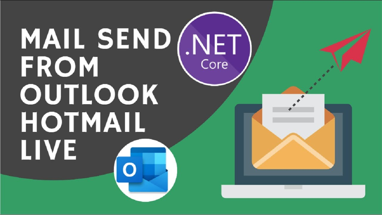 Sending Mail from Outlook or LIVE or Hotmail | ASP.NET Core