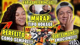 REACT - Tipo Hokage ☘️ (Naruto) | STYLE TRAP | Prod. Sidney Scaccio | MHRAP