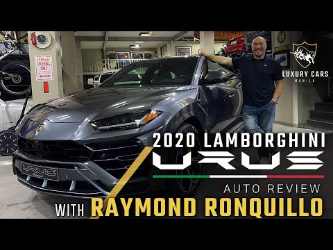 Luxury Cars Manila : 2020 Lamborghini URUS Auto Review With Special Guest Mr. Raymond Ronquillo