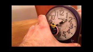 Rhythm Alarm Clocks - CRE875NR