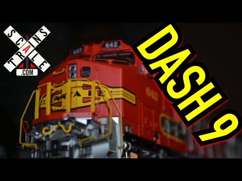 ScaleTrains C44-9W Review (ATSF Warbonnet #642)