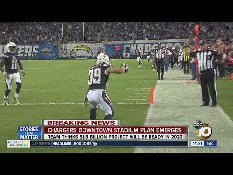 Chargers release downtown stadium plan