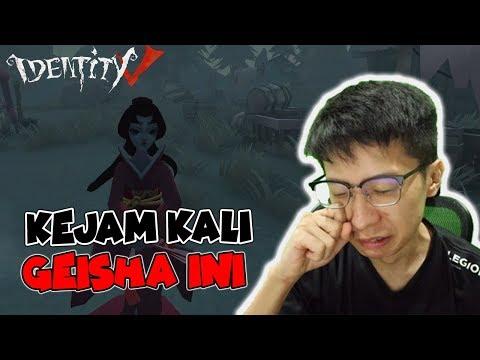 Geisha 2 VS 8! SURVIVOR MENANGIS! - Identity V
