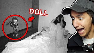 HER DOLL STALKS HER AT NIGHT... *SCARY*