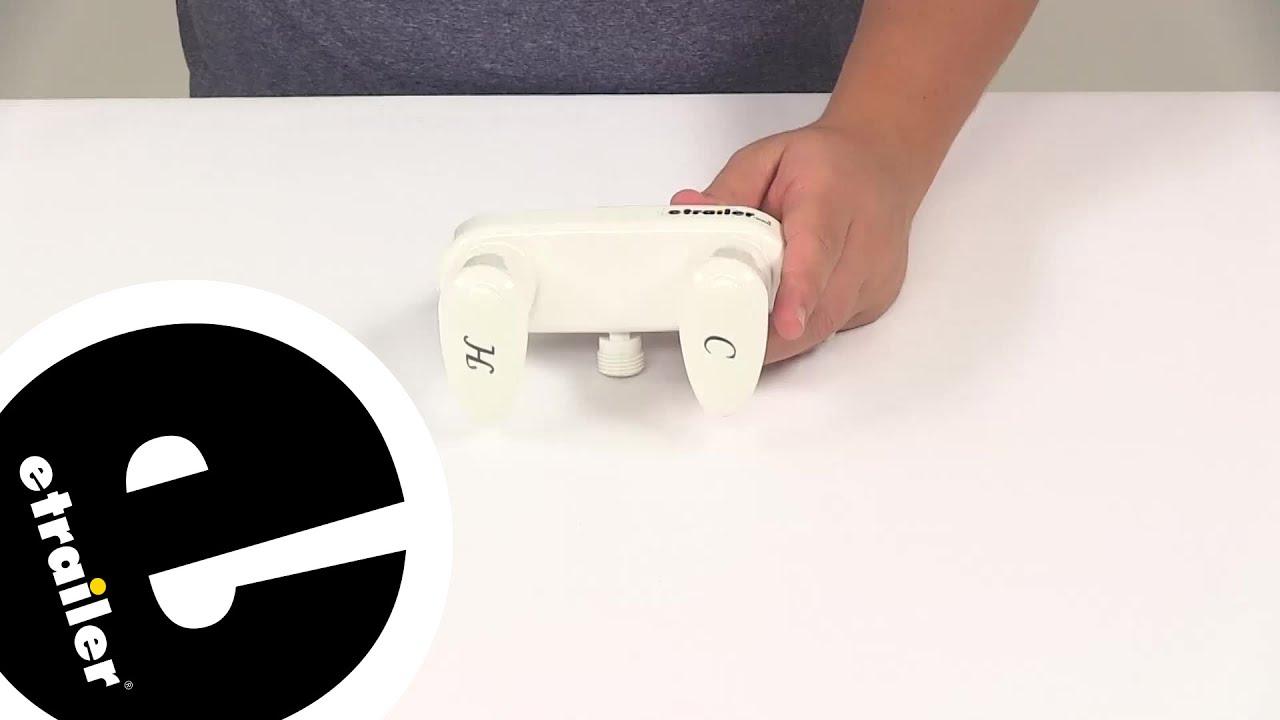 Demo Phoenix Faucets RV Bathroom PF223241 - etrailer.com - YouTube