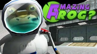 FROG ON THE MOON! - Amazing Frog Christmas Up...