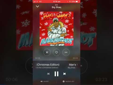 Big shaq Mans not hot Christmas edition