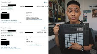 I made beats for 129 days straight and made $4500