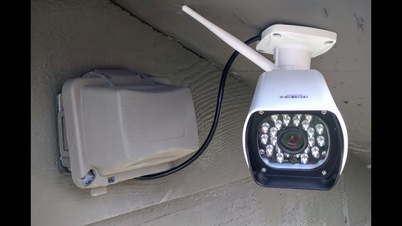Security Camera Without Router Cable Vivint Smart Thermostat Wiring Diagram Installing Cleverloop Outdoor Ip Youtube
