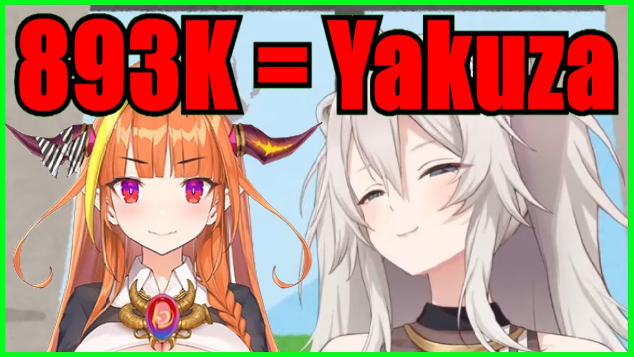 Botan's Happy to Reach 893k (Yakuza) Subs Which Reminds Her Of Coco【Hololive | Eng Sub】