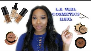 NEW L.A GIRL COSMETICS HAUL