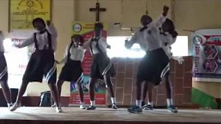vuclip JIGIJIGI dance at st francis girls high school MANGU .#AFRIKWEAR