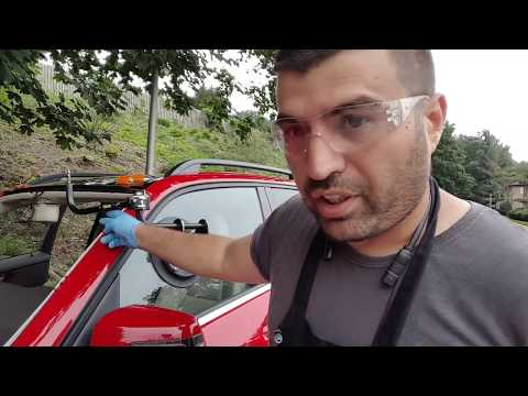 Lil Buddy Auto Glass Tool.   How to set it up . NJ New Auto Glass