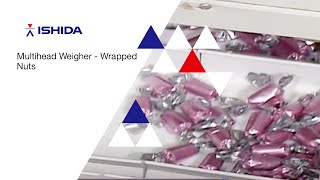 Ishida Multihead Weigher. Application: Wrapped Nuts