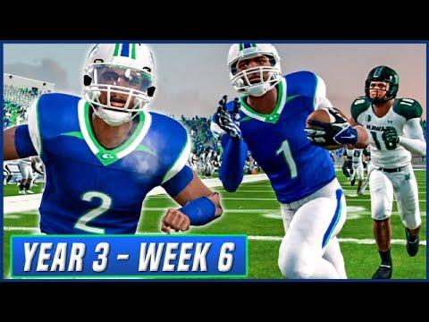 NCAA Football 14 Dynasty Year 3 - Week 6 vs Hawaii    Ep.42