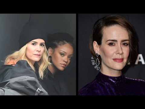 Sarah Paulson Explains 'Ocean's Eight' Nickname Talks Cast's Pact to Stay Cool in Front of Rihanna