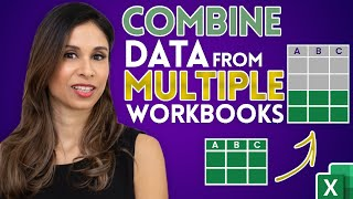 Easiest way to COMḂINE Multiple Excel Files into ONE (Append data from Folder)