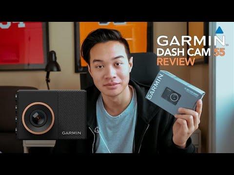 Garmin 55 Dash Cam Review/Walkthrough! BUDGET DASH CAM