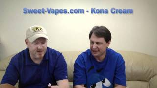 Juice Review - Kona Cream - Sweet-Vapes