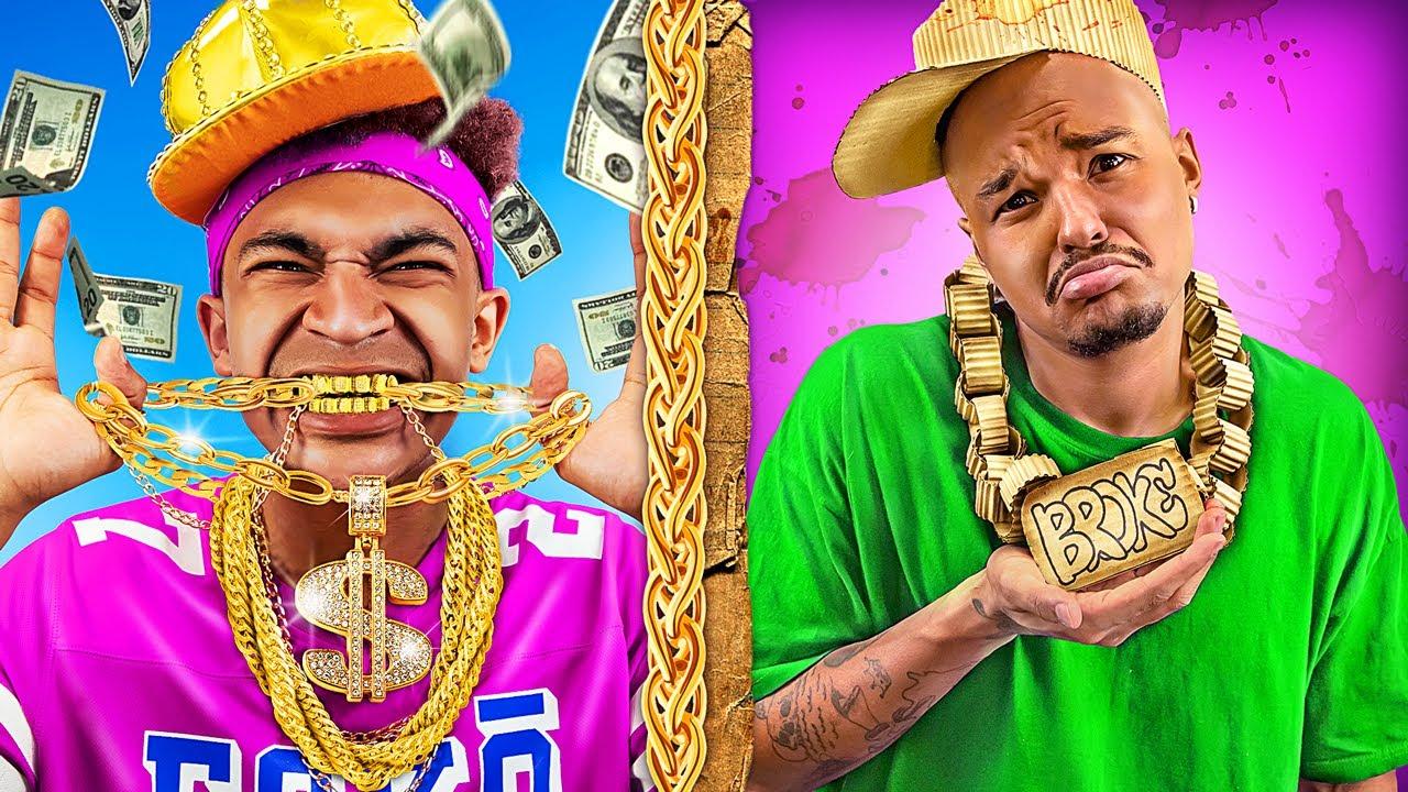 Rapero Rico vs Rapero Pobre