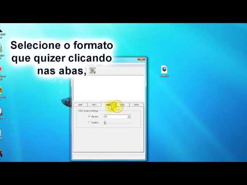 Como converter audio AMR para MP3, OGG, WAV ou WMA (How to convert AMR Files to MP3 ...)