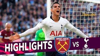 West Ham vs. Tottenham: 0-1 Goals & Highlights | Premier League | Telemundo Deportes