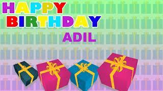 Adil - Card Tarjeta_1697 - Happy Birthday