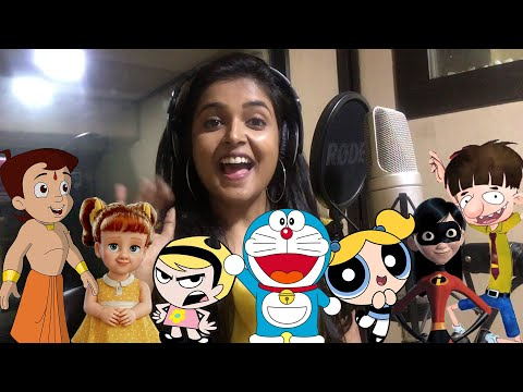 The Girl Behind Many VOICES – LIVE OFFICIAL DUBBING Ft. Sonal Kaushal