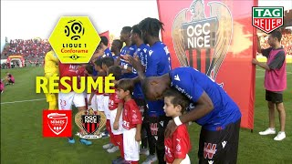 Nîmes Olympique - OGC Nice ( 1-2 ) - Résumé - (NIMES - OGCN) / 2019-20