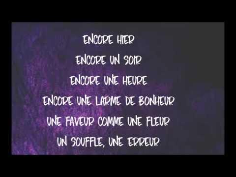 CÉLINE DION - ENCORE UN SOIR | LYRICS
