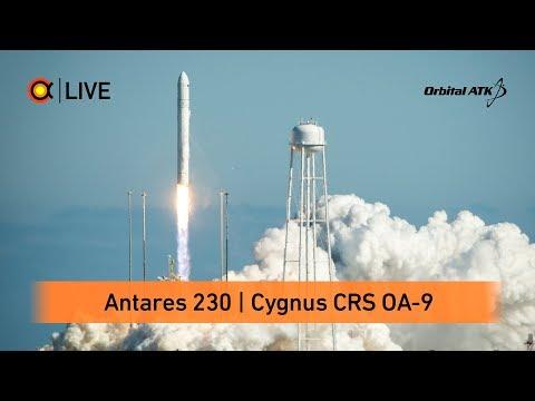 Трансляция пуска Antares (Cygnus OA-9)