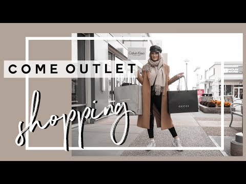 COME LUXURY OUTLET SHOPPING | GUCCI, MAX MARA, JIMMY CHOO | MON MODE