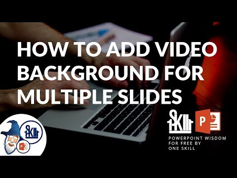 How To Add Video Background To Multiple Slides In PowerPoint