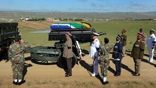 MILITARY HONOUR FOR MAMA WINNIE MANDELA AT THE FUNERAL