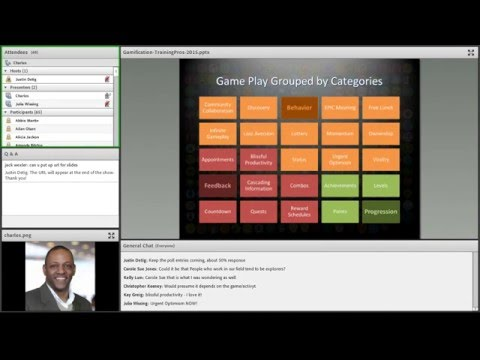 Gamification for Business and Training Webinar