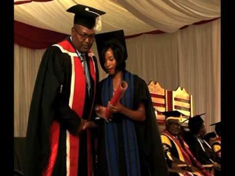 First San student graduates at UNAM's Rundu campus-NBC
