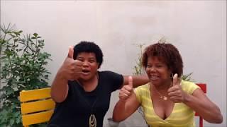 Primeiro vídeo do canal - As Atrapalhadas Rubia e Lene