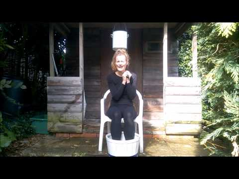 Debbie Dicks takes the ALS Ice Bucket Challenge